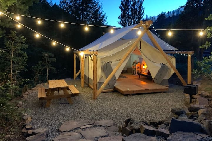 Glamping! Luxury Tent - Prospector