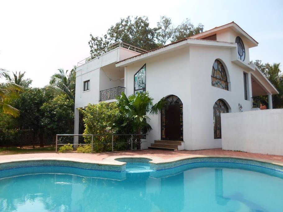 Sagarika Garden Beach House Villas For Rent In Chennai Tamil Nadu India