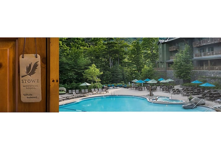 #145 * Inside the Lodge At Spruce Peak | Studio | Pool & Mountain Views!
