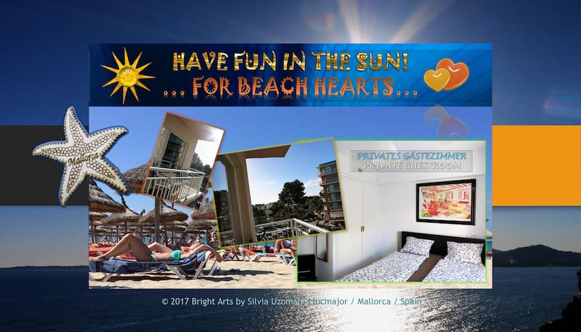 BEACH HEART'S FUN IN THE SUN - El Arenal - อพาร์ทเมนท์