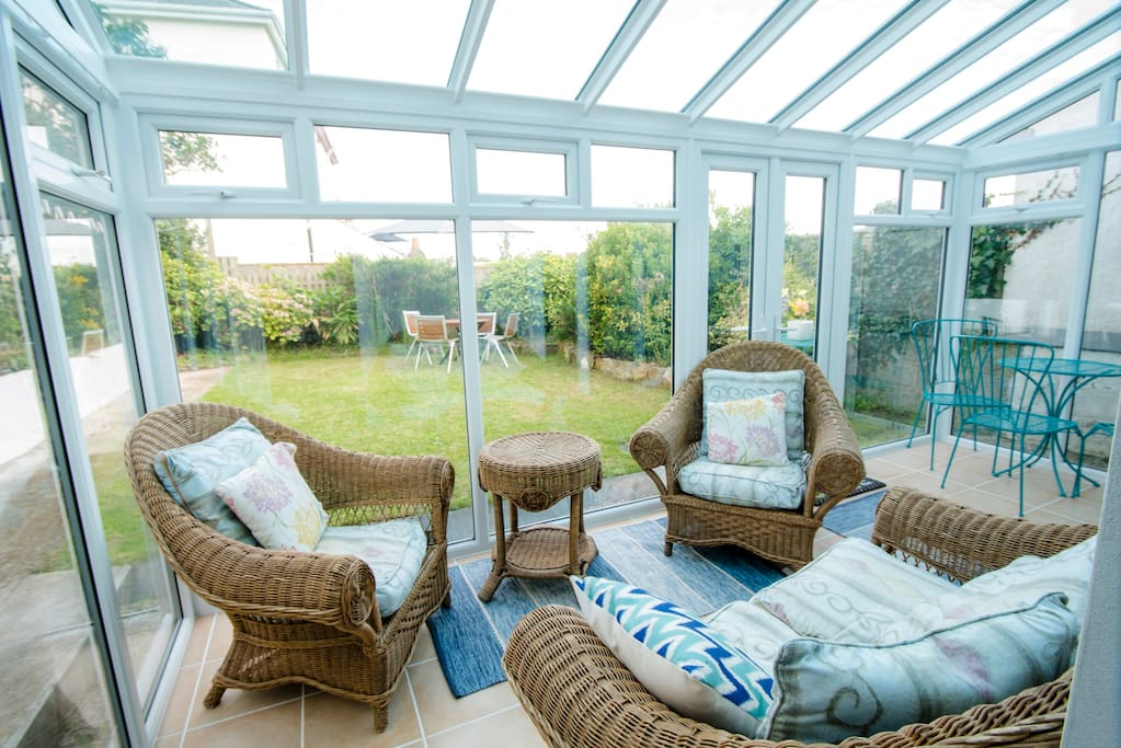 Conservatory for relaxing with friends or a good book