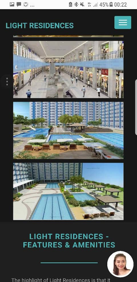 SMDC Light Condo with Parking - Long Term Only