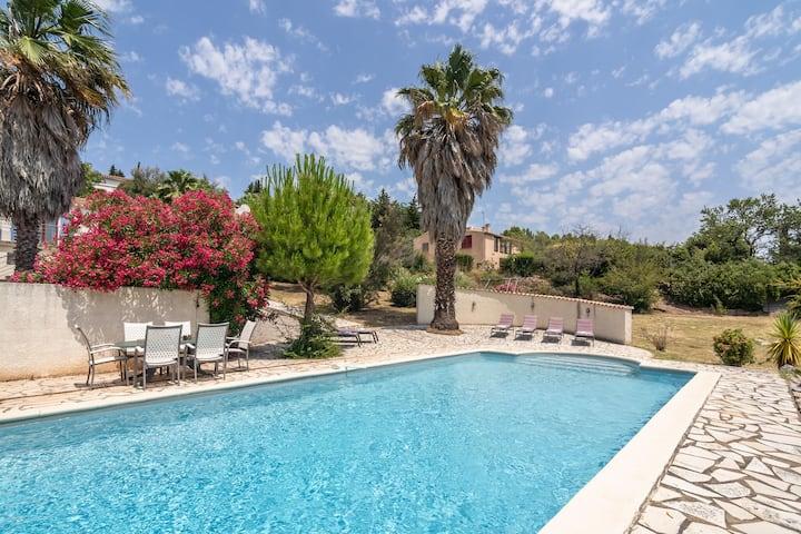 Villa de luxe avec piscine privée et jacuzzi à Beaufort