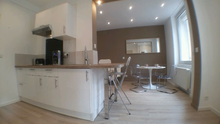 Appartement luxueux centre, 45 m2 neuf & cosy!