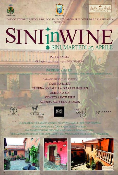 SINIinWINE EVENT 25 APRILE 2017