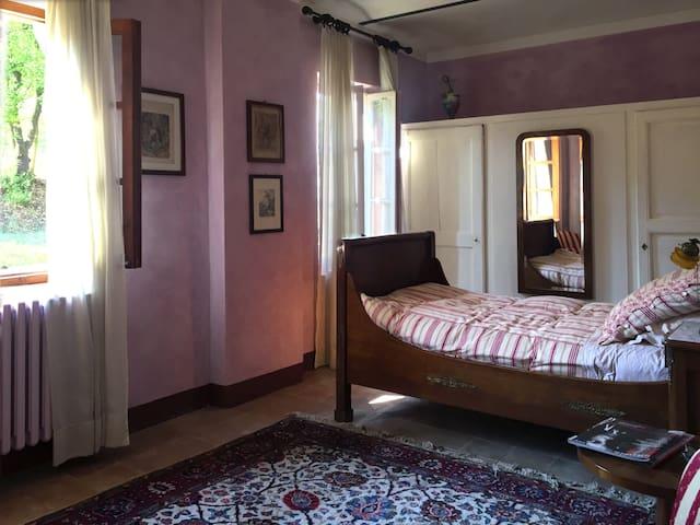 Camera lilla/lilac room