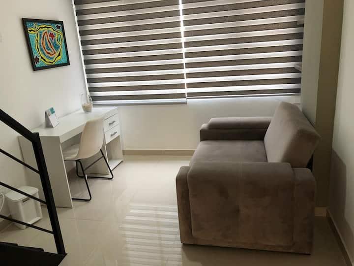 Apartaestudio en San Fernando