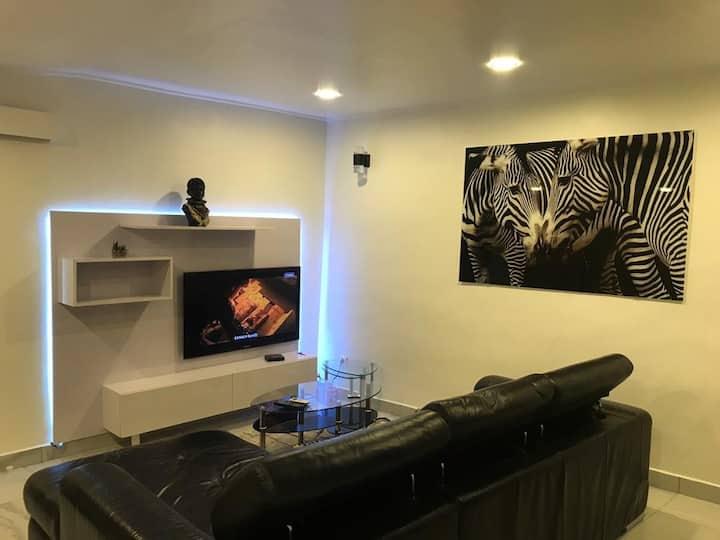Appart 1 chambre de luxe meublé à Bali/Bonapriso