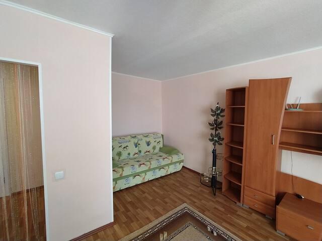 Чистая и уютная однокомнатная квартира