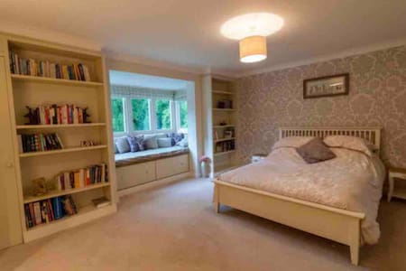 Luxury double room with private adjacent bathroom