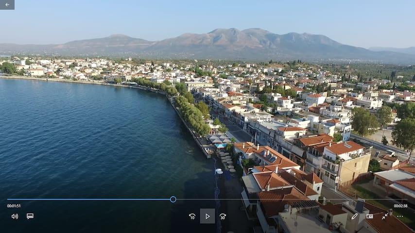 Apt close to the beach Amarynthos Evia
