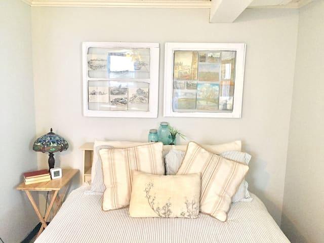 Cozy basement bedroom & living room - Lynchburg - House