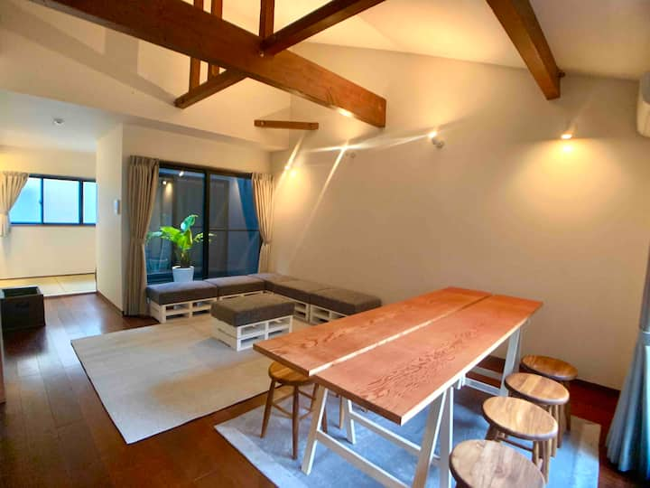 1棟貸切で最大8人までゆったり泊まれるホテル ATTA HOTEL KAMAKURA 105