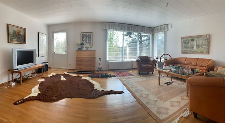room in cozy house in the Stockholm archipelago