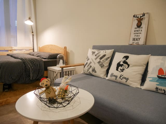 Cozy & Spacious Home in Prince Edward & Mongkok ⚡️