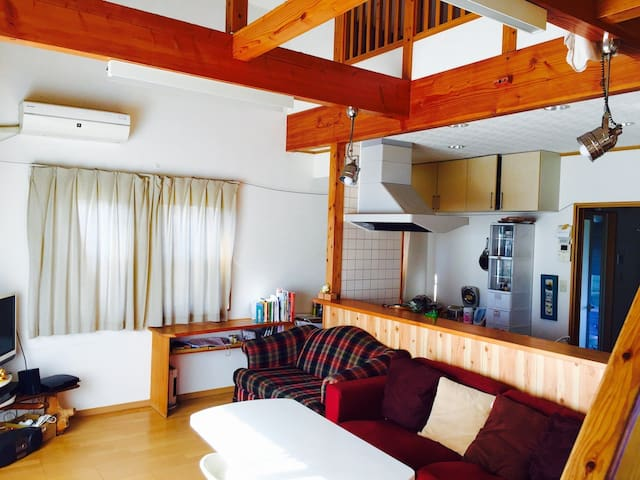 warm share house with cycling rental - Takamori - House