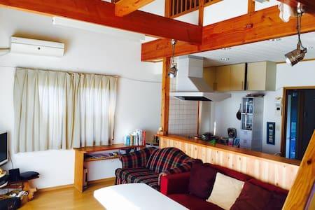 warm share house with cycling rental - Takamori