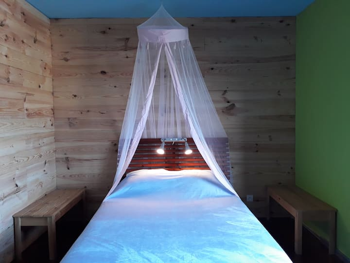 Eco Villa : private double room