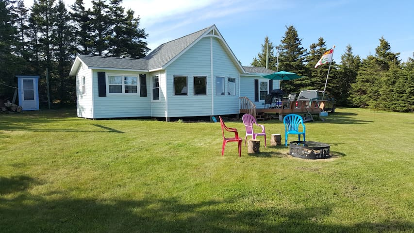 Cottage at #1 Ranked Sandy's Beach ~warmest water