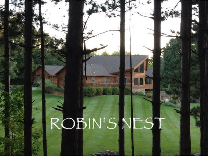 """Robin's Nest"" near SJU, CSB & Wobegon Trail"