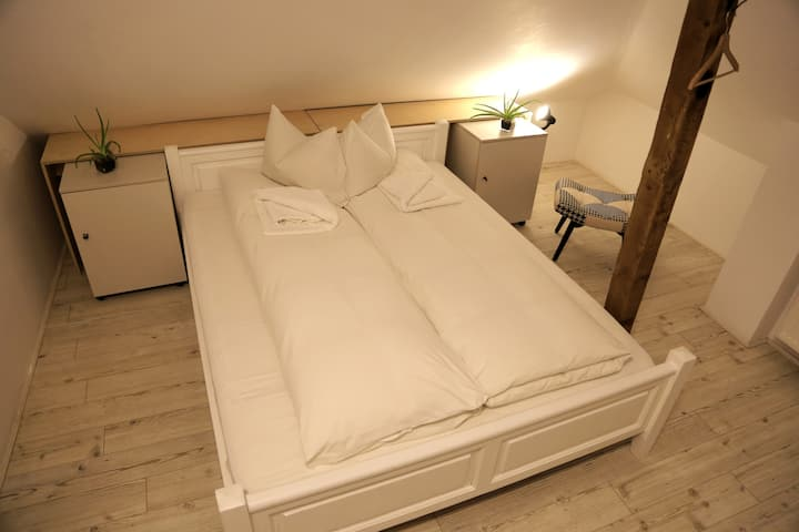 Double room with a cause