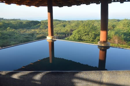 Private luxury home on the Beach! - Troncones - House