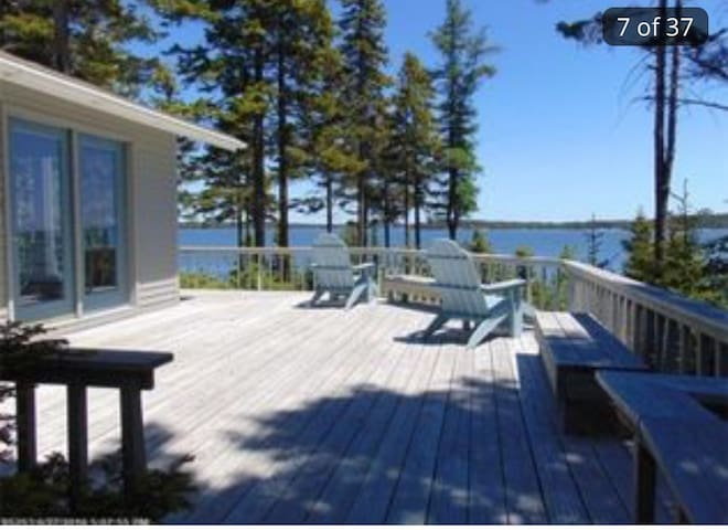 World class views in serene setting - Milbridge  - Hus