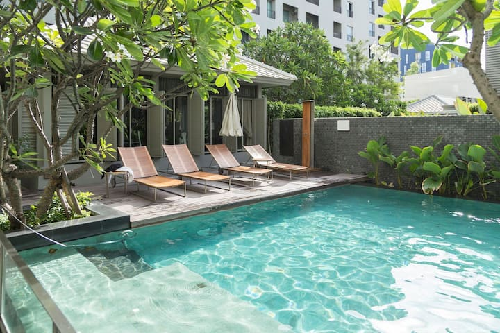 1BR @Siam Free Limo,1m BTS central BKK