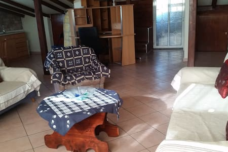 Furnished loft 85qm view in Thermaikos near theSea