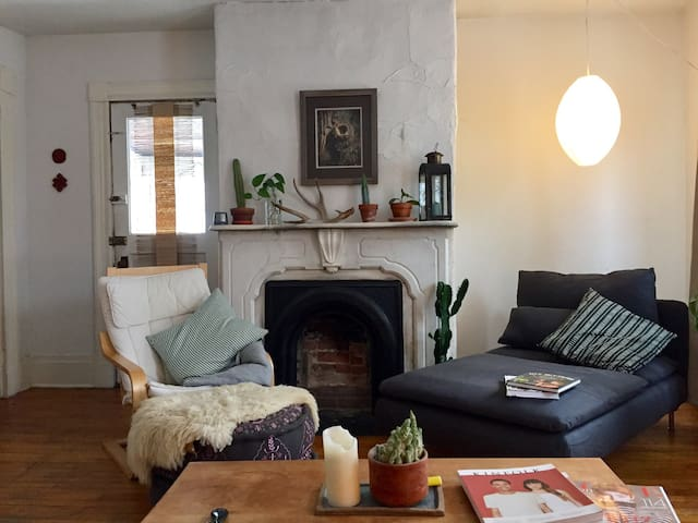 Cozy bright downtown apartment - Burlington - Huoneisto