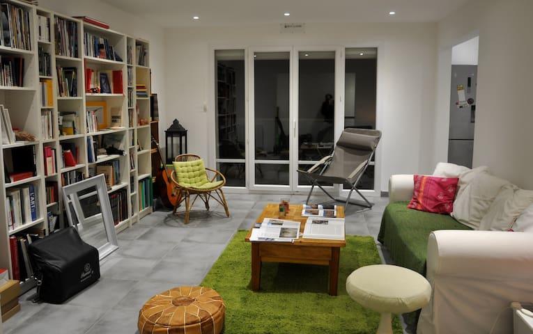 Grand appartement pour 6 personnes
