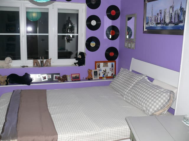 chambre violette - Mont-Saint-Éloi - B&B/民宿/ペンション