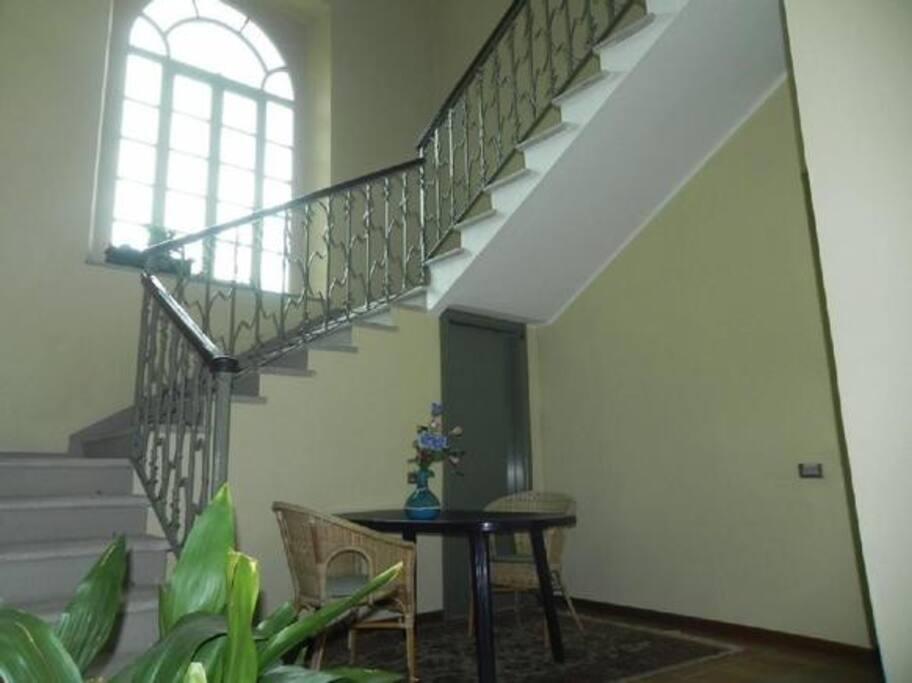 scala interna dell'edificio