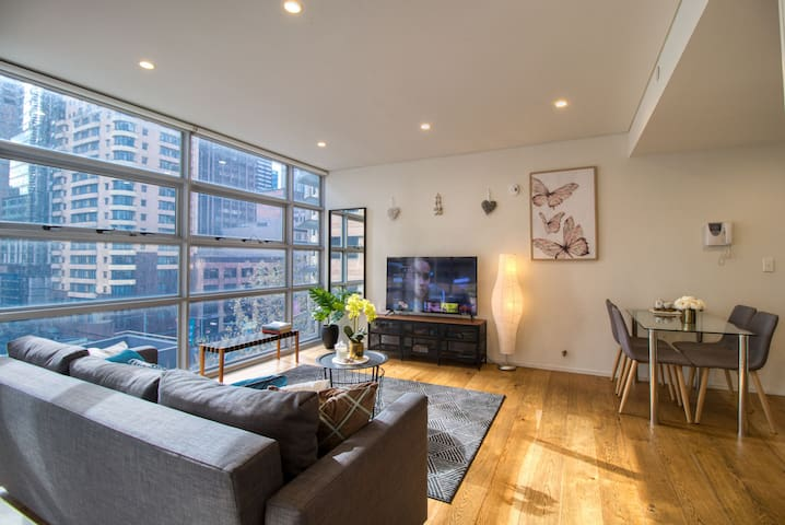 Superb Apartment in Heart of CBD: Darling Harbour