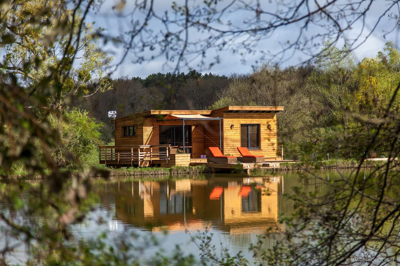 Cabane & Lac grand confort dans un écrin de Nature exceptionnel.
