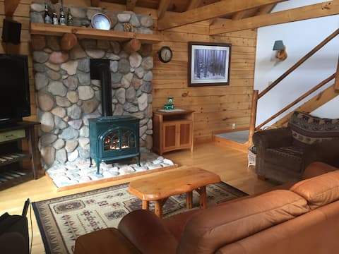 North Conway Log Home
