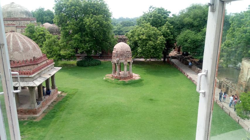 Monuments View - Hauz Khas Village 2