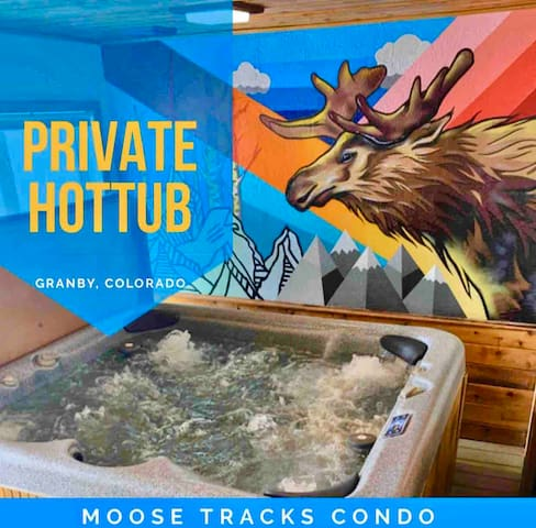 NEW! PRIVATE 8 Person *HOTTUB* Mnt View RMN PARK