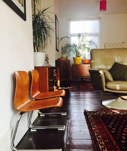 Bright Family Home 10min from Beach - Portslade - Hus
