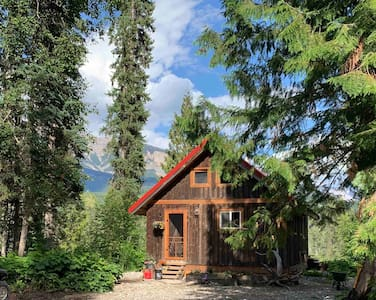 Peaceful, off grid cabin nestled in wilderness.