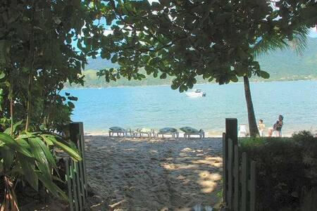 Espetacular casa, Praia Privada, Ar - São Sebastião - Casa