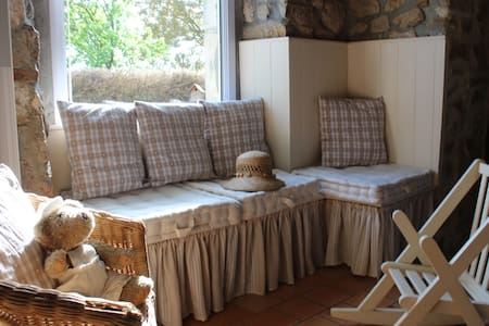 Accommodations in cottage or bedroo