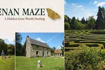 Greenan Maze - both adults and children love it here
