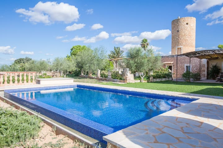 Can Salines - Restored wind mill & private pool - Felanitx - Bungalo