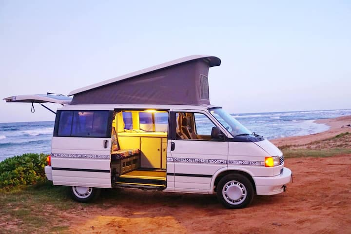 """Pele"" Camper Van on Kauai"