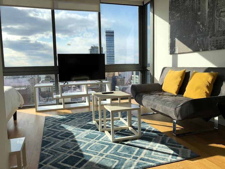 Luxury High Floor Studio with stunning view