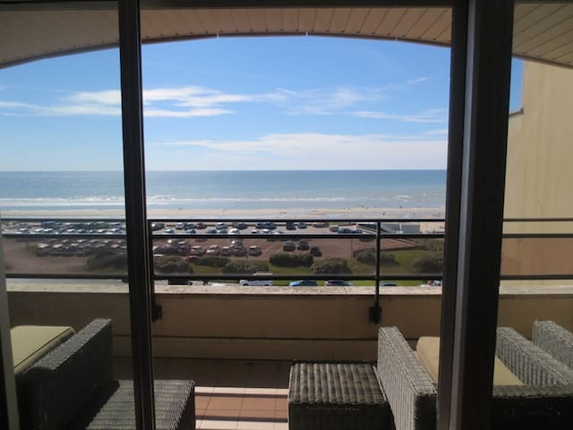 """Beautiful apartment with a very nice sea view """"The President"""" - LE TOUQUET PARIS PLAGE"""