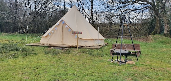 Florence the Bell Tent set in 7 acres