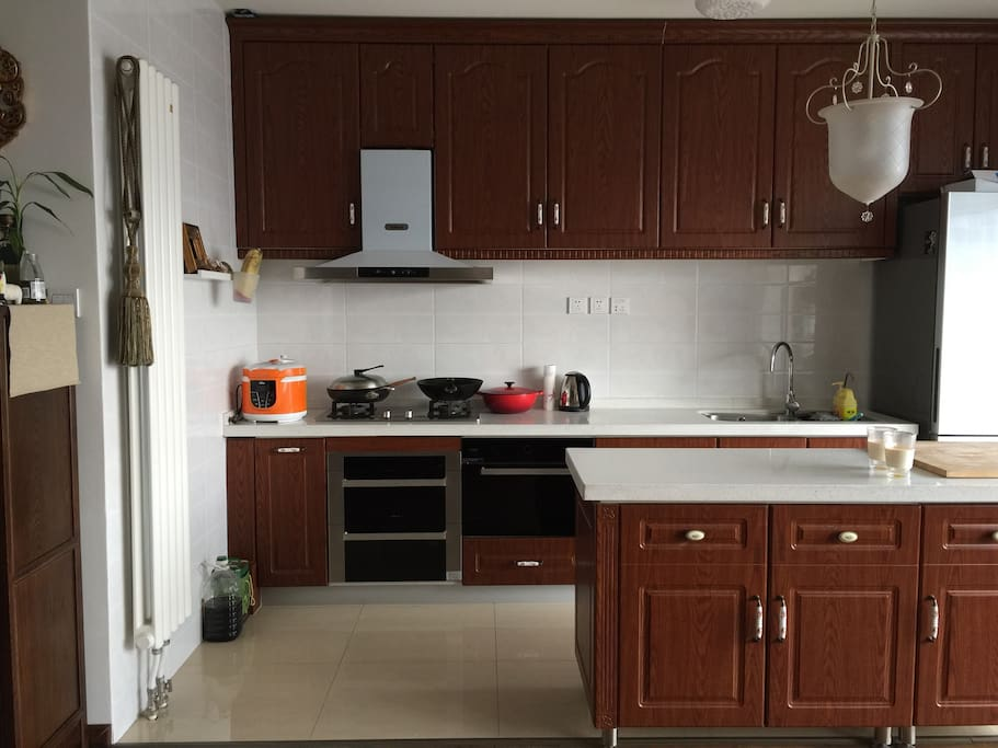 Nice and comfortable kitchen