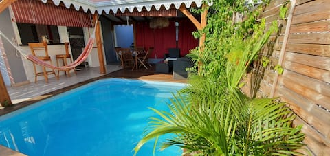 charming cottage whith individual pool